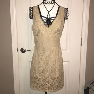 Lace Nude Dress